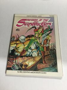 Marvel Graphic Novel 14 Swords Of The Swashbucklers Nm- Near Mint- B19