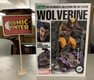 Kotobukiya Marvel Wolverine Fine Art Statue X-Men Danger Room Series