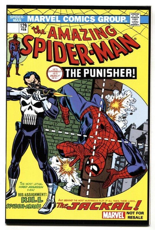 AMAZING SPIDER-MAN #129 2004 1st  PUNISHER-MARVEL rare reprint