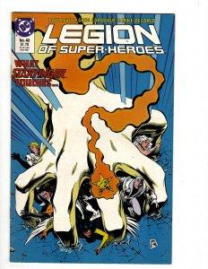 Legion of Super-Heroes #40 (1987) J609