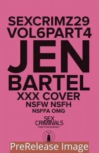 SEX CRIMINALS (2013 IMAGE) #29 VARIANT XXX BARTEL PRESALE-06/24