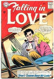 FALLING IN LOVE #70 1964-DC ROMANCE VG/FN