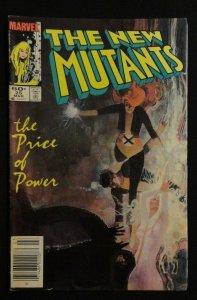 THE NEW MUTANTS 25 26 27 #25-27 1st App Legion Marvel Comics FX