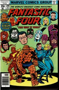 Fantastic Four #190, 8.0 or Better - 1st Marv Wolfman Work on FF4