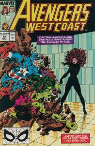 Avengers West Coast #48 FN; Marvel | save on shipping - details inside