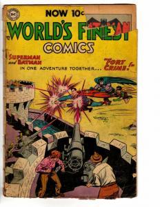 WORLDS FINEST (1941-1986  DC) 72 FR Batman Superman