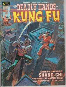 DEADLY HANDS OF KUNG FU #13 RON VAN CLIFF INTERVIEW / SHANG CHI1975 MARVEL