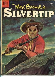Silvertip-Four Color Comics  #608 1951-Dell-Max Brand-Everett  R. Kinstler-G+