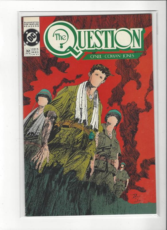 The Question #32 Mature Readers VF/NM Nice Copy
