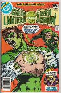 Green Lantern #110 (Nov-78) NM- High-Grade Green Lantern, Green Arrow, Black ...