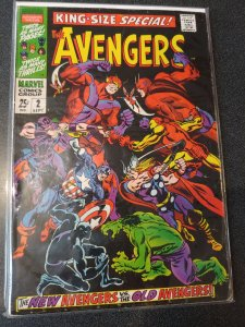 The AVENGERS King-Size Special #2 vs The Avengers fine
