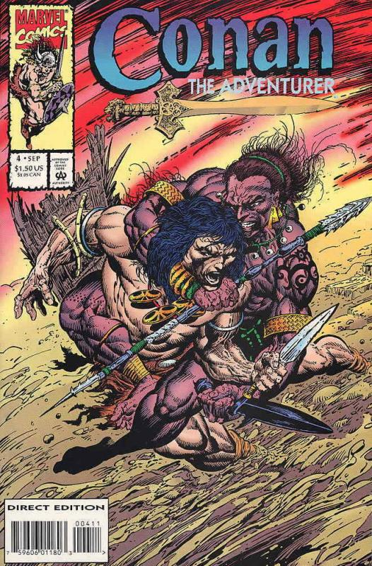 Conan the Adventurer #4 VF/NM; Marvel | save on shipping - details inside