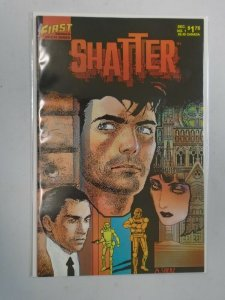 Shatter #1 8.5 VF+ (1985 First Publishing)