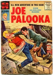 Joe Palooka #97 1956- Ham Fisher- Silver Age Harvey comic VG