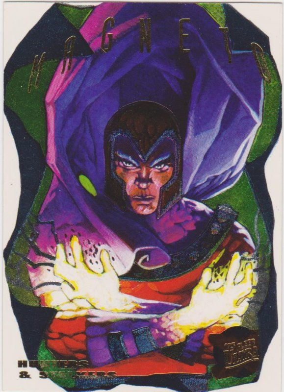 1995 Fleer Ultra X-Men Hunters & Stalkers #8 Magneto