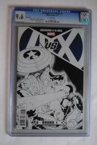 Avengers VS X-Men, #1 sketch cover, 9.6