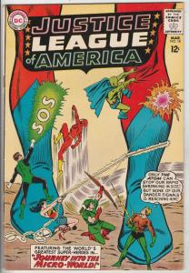 Justice League of America #18 (Mar-63) FN/VF+ Mid-High-Grade Justice League o...