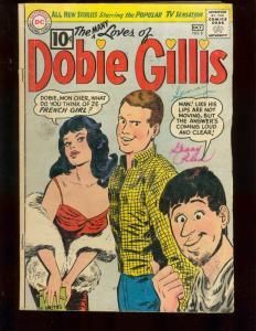 MANY LOVES OF DOBIE GILLIS #9 DWAYNE HICKMAN BOB DENVER G/VG