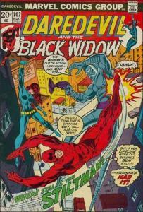 Marvel DAREDEVIL (1964 Series) #102 FN+