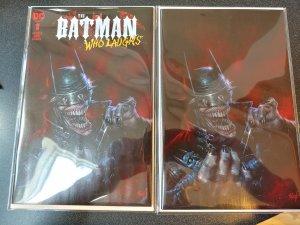 Batman Who Laughs 1 LUCIO PARRILLO Set Limited To 500  FOIL edition