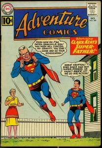 ADVENTURE COMICS #289 1961-SUPERBOY-BIZARRO STORY-DC-very good plus VG+