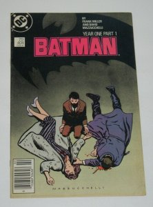 Batman #404 Year One Frank Miller 1987 DC Comics VF