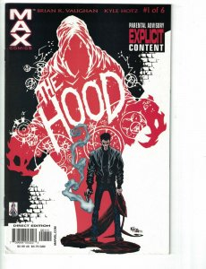 The Hood #1 FN Marvel 2002 - 1st appearance of Parker Robbins - Vaughan - Holtz