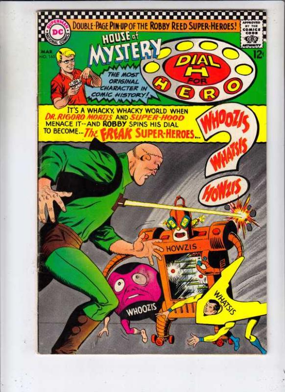 House of Mystery #165 (Mar-67) FN Mid-Grade Martian Manhunter, Dial H. for He...