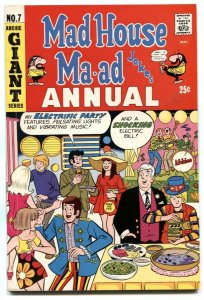 Mad House Ma-ad Annual #7 1969- Sabrina -  FN-