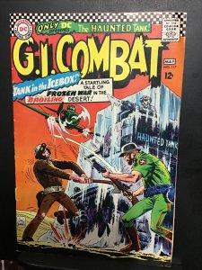G.I. Combat #117 (1966) mid high-grade heart attack, Joe Kubert key! FN/VF Wow!