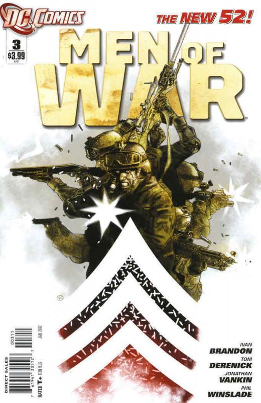 Men of War (2nd Series) #3 VF/NM; DC | save on shipping - details inside