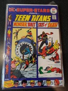 DC Super-Stars #1 in Fine + condition