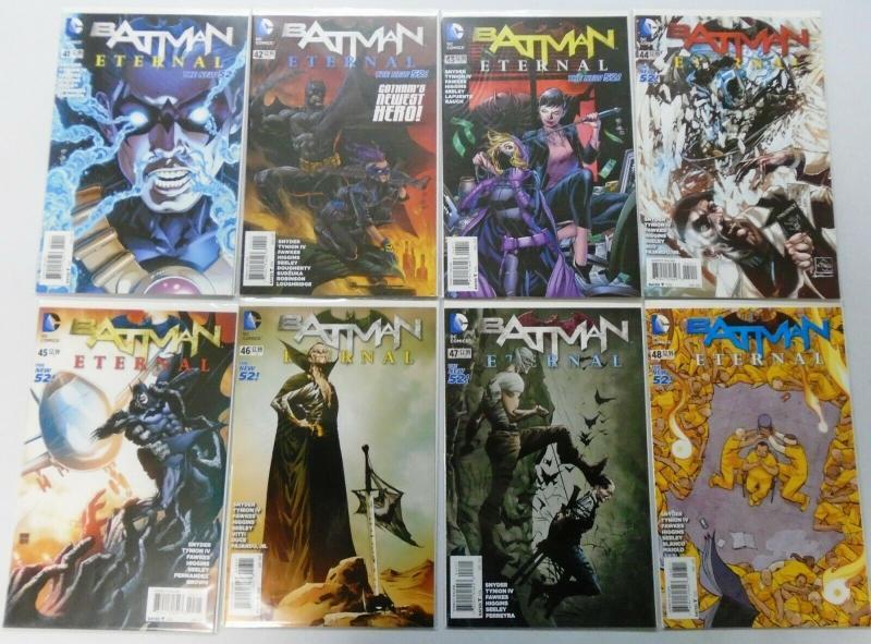Batman And Robin Lot, Set:#1-13 + 22-39, Annual:#1-3, 34 Diff 8.0/VF (2011-2015)