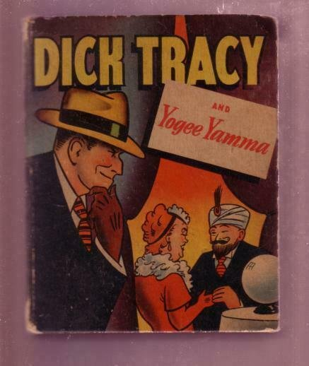 DICK TRACY AND YOGEE YAMMA-1946 #1412-BLB-CHESTER GOULD VG