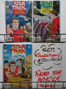STAR TREK 10-12 The Trial Of James T. Kirk complete