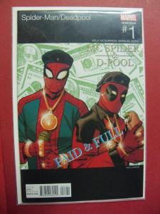 SPIDER-MAN / DEADPOOL #1 HIP HOP VARIANT (9.6 or better)  MARVEL COMICS