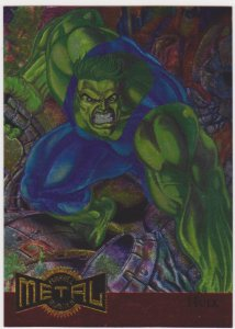 1995 Marvel Metal Metal Blasters #5 Hulk