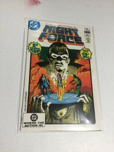 Night Force 1 Nm Near Mint DC Comics