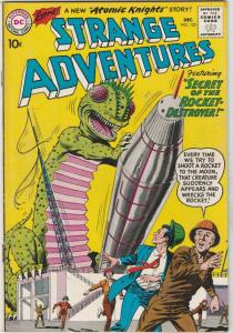 Strange Adventures #123 (Dec-60) NM- High-Grade Atomic Knights