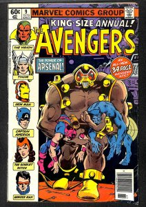 Avengers Annual #9 VG- 3.5