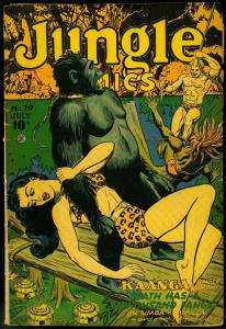 Jungle Comics #79 1946- Good Girl art cover- Origin of Tabu G/VG