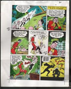Hand Painted Color Guide-Capt Marvel-Shazam-C35-1975-DC-page 30-VG