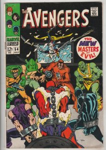 Avengers, The #54 (Jul-68) FN/VF- Mid-High-Grade The Avengers (Captain Americ...