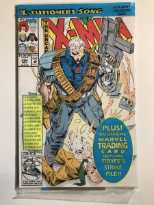 X-Men #294 Still Sealed In Bag with card