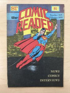 The Comic Reader 165    1979 Fanzine