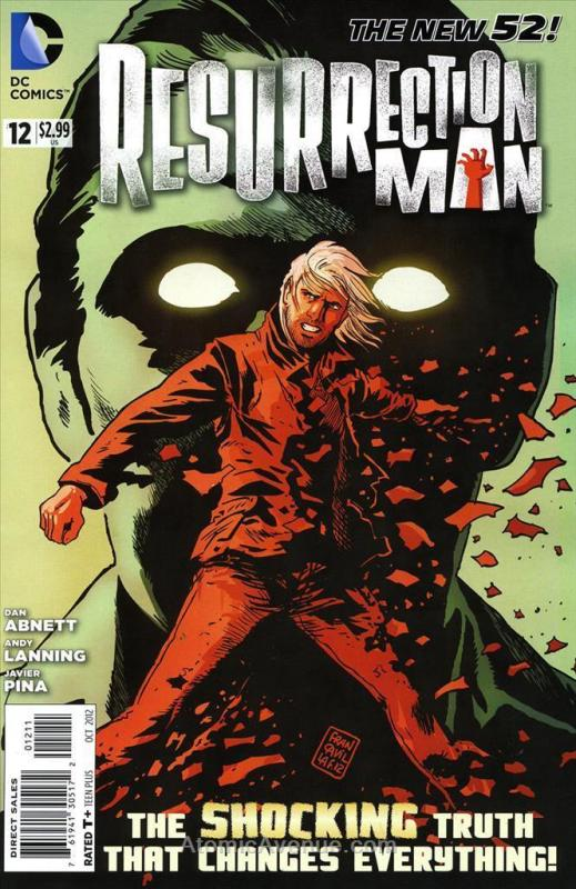 Resurrection Man (2nd Series) #12 VF/NM; DC | save on shipping - details inside