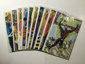 Crossfire 1-11 13-18 Crossfire And Rainbow 1 2 Lot Run Set Nm Eclipse Comics
