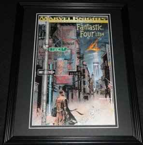 Fantastic Four Marvel Knights #1 Framed Cover Photo Poster 11x14 Official Repro