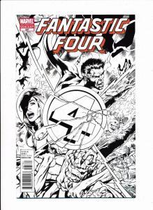 Fantastic Four #587D, 3rd Printing Variant -  Marvel Comics 2011 ~ NM (HX575)