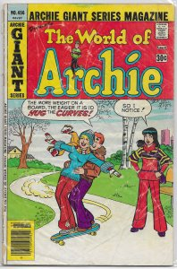 Archie Giant Series Magazine   #456 FR/GD World of Archie